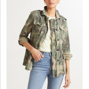 Free People Not Your Brothers Camo Jacket